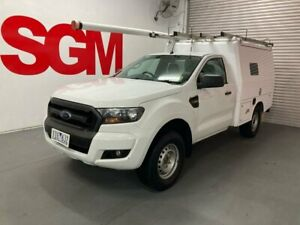 Ford Ranger PX Mk II Single cab 4x4 2016 - Fitted with XL service body (ex-Telstra fitout) AUTOMATI