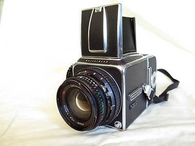 Hasselblad 500C/M Zeiss Planar 80mm f2.8 A12 filmback