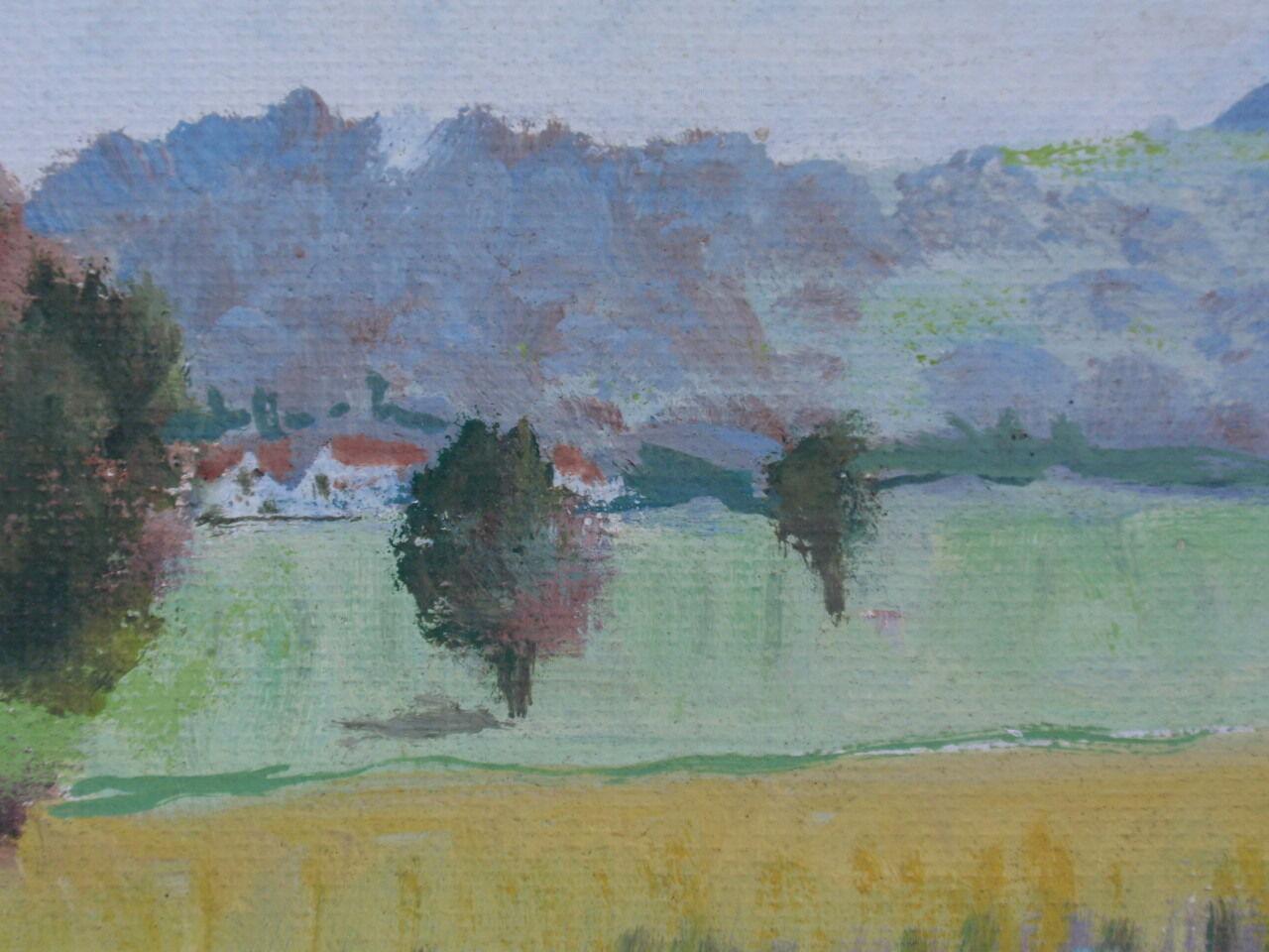 Mark Brown Oil Painting Australia