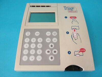 Biosite Diagnostics Triage Meter Analyser Built In Printer Used Lab Equipment