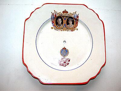 Vintage May 1937 Royal England Coronation C.W.S. Astoria Shaped Plate
