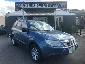 2009 Subaru Forester MY10 X Blue 4 Speed Auto Elec Sportshift Wagon Morayfield Caboolture Area Preview