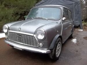 For sale, very solid 1989 Rover Mini for sale.