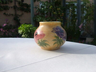 VINTAGE HAND PAINTED ART DECO RADFORD SMALL VASE - SIGNED - EX. COND.