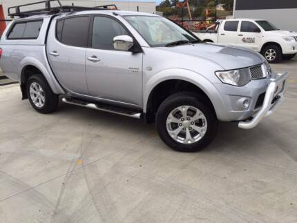 2011 Triton GLX-R 4x4 Dual Cab Auto with Canopy Cambridge Clarence Area Preview
