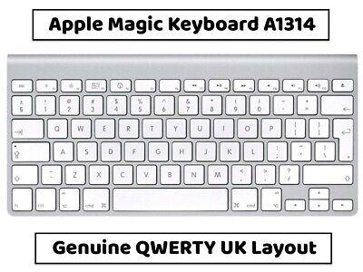 Apple Magic Keyboard A1314 QWERTY UK Layout Wireless Bluetooth *VGC*