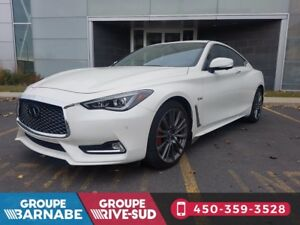 2017 Infiniti Q60 Coupe 400HP RED SPORT ENSEMBLE TECHNOLOGIE