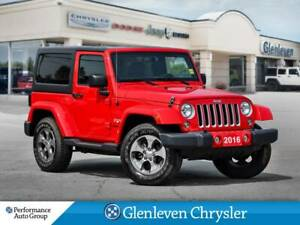 2016 Jeep Wrangler Sahara navigation hardtop manual