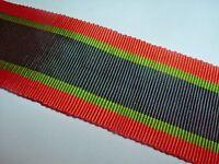Medal Ribbon-british Silk/cotton Ribbon For The Sudan 1910 Medal Superb Quality -  - ebay.co.uk
