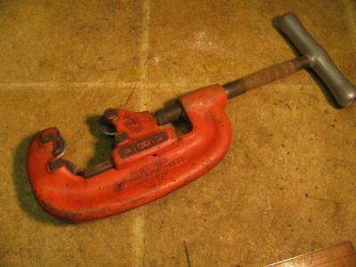 Ridgid No 42a 4 Wheel Pipe Cutter 34-2