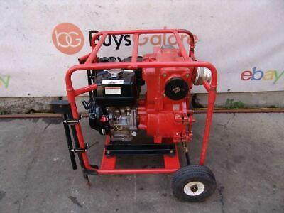 Multiquip Mq 4 Inch Honda Motor Trash Pump Model Qp-4th 2