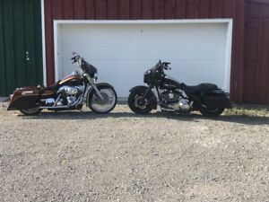 """5"""" Stretched saddlebags for 93-13 Harley touring"""