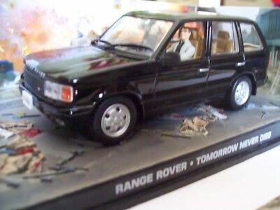 "RANGE ROVER from Movie ""TOMORROW NEVER DIES"" JAMES BOND 007 1/43 DIORAMA NEW"