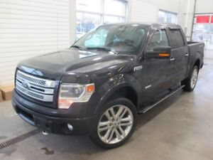 2013 Ford F-150 LIMITED CUIR   ECOBOOST LIMITED   LEATHER + ECOB