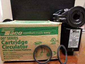 NIB NEW TACO 009 HBF5 PUMP BRONZE CARTRIDGE CIRCULATOR OUTDOOR WOOD BOILER  NOS