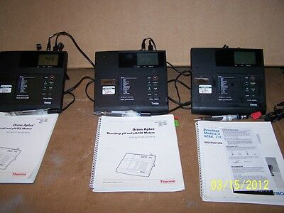 Thermo Electron Orion 420a Basic Phmvorp Benchtop Meter Calibrated 82011