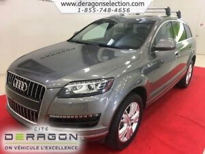 2015 Audi Q7 TDI + PROGRESSIV + 7 PLACES + NAV + CAMERA TDI + P