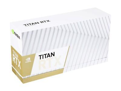 NVIDIA Titan RTX Graphics Card 24GB GDDR6  *NEW*