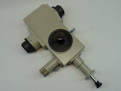 Nikon Optiphot Labophot Microscope Teaching Beam Splitter Bridge