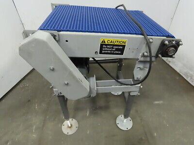27 Incline Slide Bed Conveyor 17-12 Plastic Chain Belt 302 Fpm 208-230460