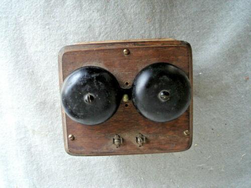 Kellogg  Ringer Box w/bell  ( oak ) case