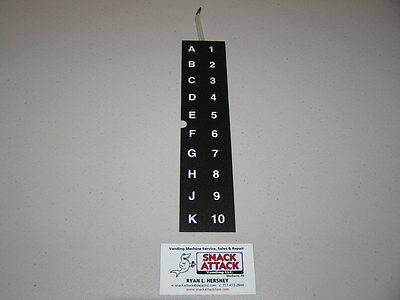 Ap Automatic Products Snack Vending Machine 113 112 111 Key Pad Free Ship