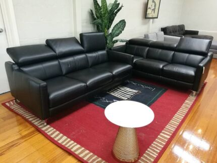 2 x 3 seater sofa lounges
