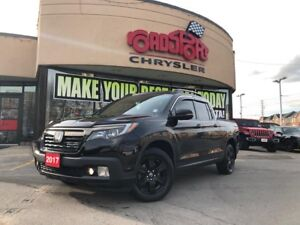 2017 Honda Ridgeline Black Edition LEATHER SUNROOF NAVI REAR CAM