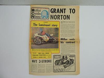 Dec 1973 Motor Cycle News Newspaper 500 Yamaha-4 Superbike L11050