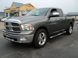 2012 Dodge Ram 1500 Big Horn QuadCab 4X4 5.7L Hemi 6ft Box