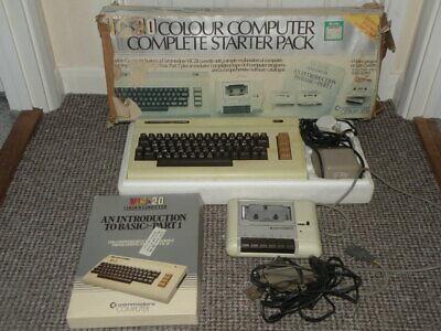 Commodore VIC 20 Colour Computer Complete Starter Pack - Ultra Rare Retro Set