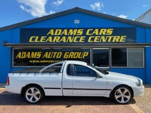 FANTASTIC EXAMPLE 2005 XL EDITION FORD FALCON AUTOMATIC SPORTS UTILITY TRAVELLED LOW KMS Eagle Farm Brisbane North East Preview
