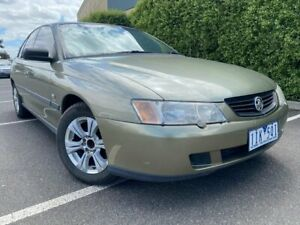 2004 Holden Commodore VY II Executive Green 4 Speed Automatic Sedan Hoppers Crossing Wyndham Area Preview