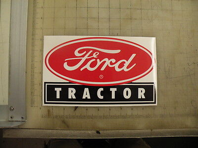 Vintage Ford Tractor Sticker Decal 10x6