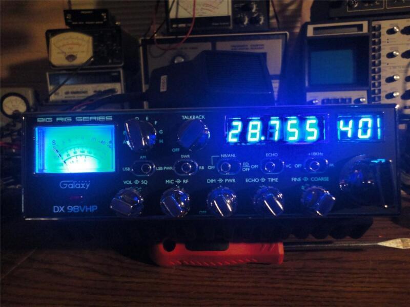 GALAXY DX-98VHP AM/SSB RADIO,W/OVER 300 WATTS OUT ((SKIP TALKING^^^SKY WALKER))