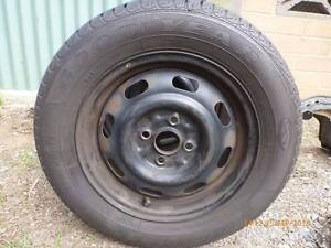 4 x Goodyear 185 65R14 Tyres with rims 4 x 100PCD Old Reynella Morphett Vale Area Preview