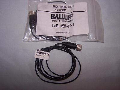 Balluff Bmoa-02sm-x12-1 Miniature Photoelectric Sensor New