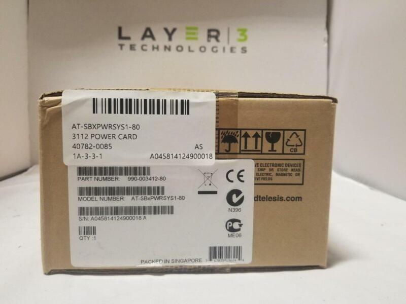 NEW Allied AT-SBXPWRSYS1-80 3112 power card - ASK ABOUT OTHER ALLIED