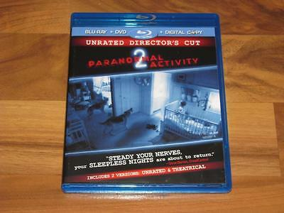 Paranormal Activity 2 (Blu-ray/DVD, 2011, 2-Disc Set, Includes Digital Copy)