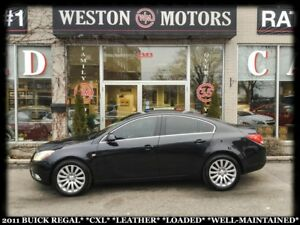 2011 Buick Regal CXL*LEATHER*LOADED*WELL MAINTAINED!!*