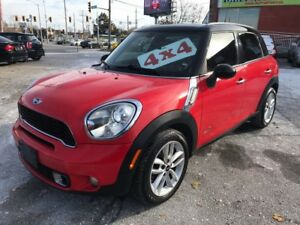 2011 MINI Cooper Countryman S/4WD/NO ACCIDENT/SAFETY/WARRANTY IN