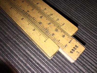 Antique vintage wood K & E Keuffel & Esser Slide Rule 4058 C