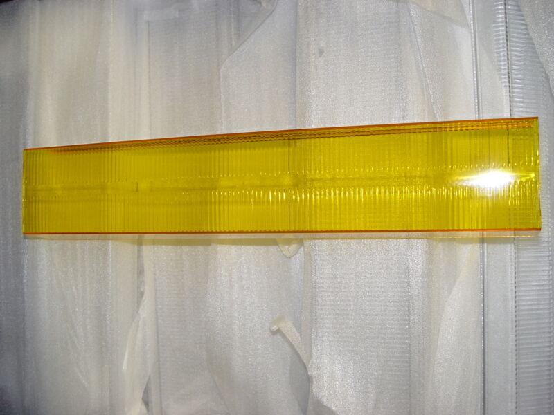 New Amber Lens for Whelen Edge Lightbars Amber Lens