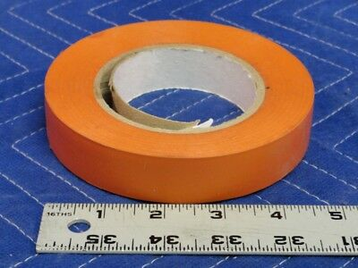 Orange Vinyl Adhesive Wrapping Tape 1x180 Safety Handles Equipment Marking Q13