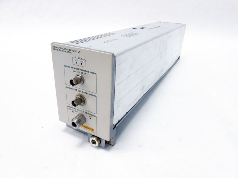 HP 70300A TRACKING GENERATOR MODULE 20HZ-2.9GHZ 70300A-001 ~ AGILENT