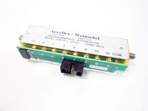 AEROFLEX WEINSCHEL 3200-2E-1 PROGRAMMABLE ATTENUATOR