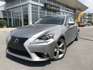 2014 Lexus IS 350 EXECUTIVE PACK, AWD, NAVIGATION,CAMERA,TOIT, C
