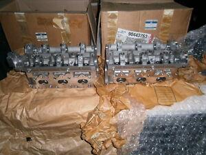 HOLDEN YE CALIBRA C25XE V6 CYLINDER HEADS L/H & R/H NEW GENUINE 90443763  &64