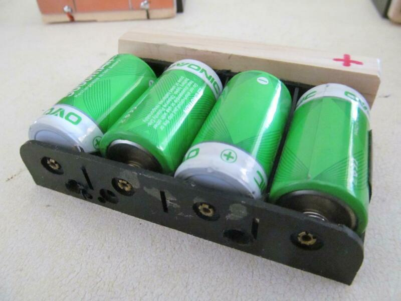 Metal detector accessories 4 C battery holder for White