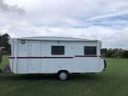 1972 Viscount Ambassador Caravan - air con, bunks, queen bed Glass House Mountains Caloundra Area Preview